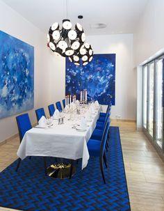 The Blue Chambre separèe. Interior architecture | Ramsoskar