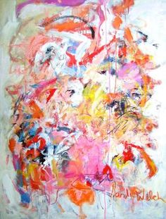 "Saatchi Art Artist Sandy Welch; Painting, ""Lets Face the Music and Dance"" #art"