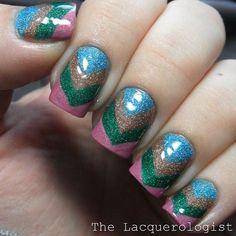 Instagram photo by lacquerologist  #nail - http://yournailart.com/instagram-photo-by-lacquerologist-nail-2/ - #nails #nail_art #nails_design #nail_ ideas #nail_polish #ideas #beauty #cute #love