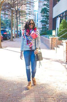 ugg bethany, ugg classic slim, plaid blanket scarf, rebecca minkoff dylan tech crossbody, dl1961 destroyed denim, casual brunch outfit, dc blogger