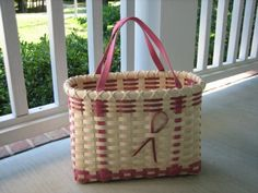 featherbaskets - Pink RibbonsTote