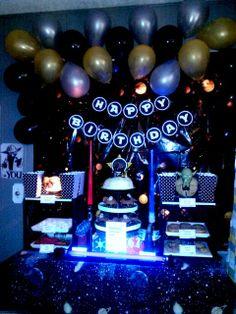 Star Wars Glow in the Dark Birthday Party