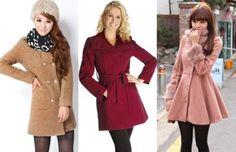 modelos e cores de casacos de inverno femininos