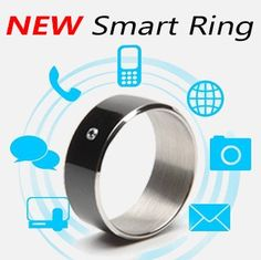 Just in!! New Technology Black & White Smart Rings