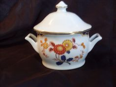 Premier Canton Fair ME217 Fine China Sugar Bowl With Lid by Home Beautiful #HomeBeautifulPremier