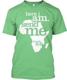 t-shirt idea.... could work for Nicaragua or Africa