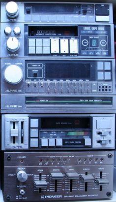 Hifi Audio, Car Audio, Radios, Pioneer Car Stereo, Audiophile, Tv, Vintage Cars, Punk, History