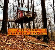 No Kids Allowed: This Tiny Treehouse is a Microbrewery
