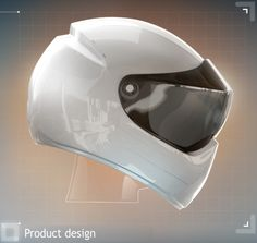 LiveMap: Motorcycle Helmet with built-in Navigation System & Display