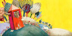 Marion Arbona - Illustration Le grand cerf, Formulette 2013