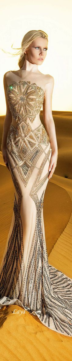 DANY TABET Spring-Summer 2015 COUTURE 022215