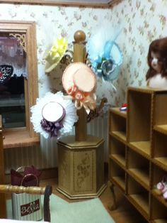 My friend Diane Melcher's lovely Hat shoppe