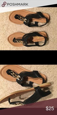 Adorable gladiator sandals Totally love but my feet are just a little too wide lol. Never worn. Still in the box. Shoes Sandals