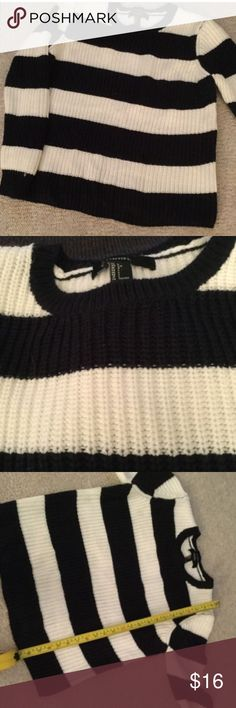 Forever 21 cable knit sweater Like new Forever 21 Sweaters