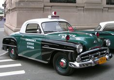 1950 Plymouth Concord NY City police car http://www.classiccarstodayonline.com