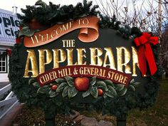 The Apple Barn and Cider Mill in Pigeon Forge, TN.       Aw!!!!!!  Where we went after we got married.