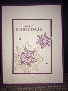 Stampin' Up! Flurry of Wishes