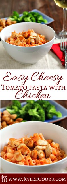 Quick to make, and super tasty - this pantry staples cheesy tomato pasta is…