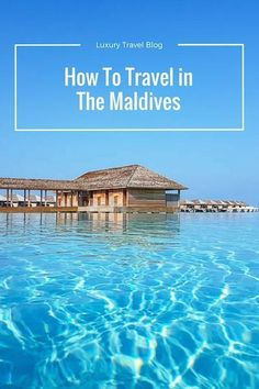 How to travel to the Maldives, and how to travel in the Maldives. With thousands of islands it can be a challenge to figure out! Maldives Tourism, Maldives Destinations, Maldives Travel, Travel Destinations, Maldives Trip, Holiday Destinations, Maldives Beach, Visit Maldives, Maldives Islands