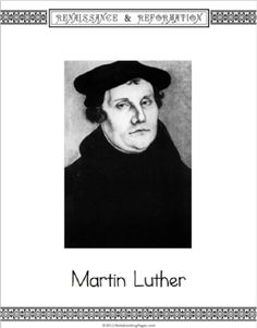 Learn About Martin Luther and the Reformation Reformation Day, Lutheran, Martin Luther, Christianity, Learning, Studying, Teaching, Onderwijs