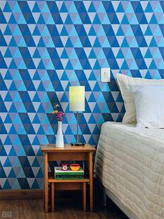 20 provas de que uma parede de tecido é o jeito mais fácil de transformar sua casa
