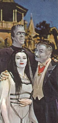 1965 The Munsters. I grew up watching this show...mostly because the Addams Family scared me!!