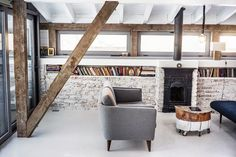 Scandinavian design. Attic. Home.