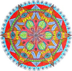 Learn how easy it is to draw a Petal Mandala with a compass. Barb Owen shows you the easiest way to make your own magic mandala! Compass, pencil, pens. GO!