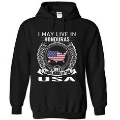 I May Live in Honduras But I Was Made in the US (V2)-ml - #college gift #personalized gift. SECURE CHECKOUT => https://www.sunfrog.com/States/I-May-Live-in-Honduras-But-I-Was-Made-in-the-US-V2-mlptvvrxkp-Black-Hoodie.html?68278