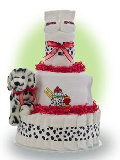 Our faith Lil' Firefighter the dalmation!  A great gift for a new baby born into a family of courageous firefighters! Only $67.00