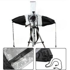 Waterproof Photo Rain Cover Protective Gear For Canon Nikon Pentax DSLR Camera #UnbrandedGeneric