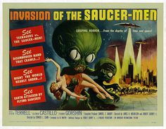 """""""INVASION OF THE SAUCER-MEN"""" was one of FRANK GORSHIN'S early films in 1957 in which he played Joe Gruen."""