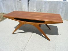 Machine Age – New England's Largest Selection of Mid-20th Century Modern Furniture | Teak Coffee Table by Johannes Andersen for CFC Silkebor...