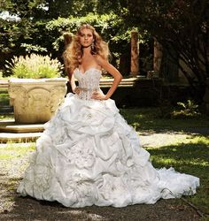1975 Eve of Milady bridal gowns | You are here: Home / Eve of Milady Wedding Gowns