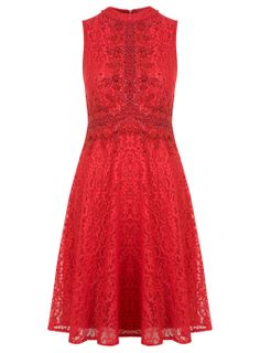 Embellished High Neck Dress - Highland Rose - Clothing - Miss Selfridge Europe