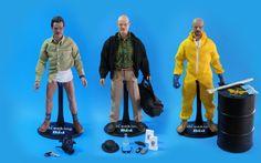 Breaking Bad action figures.  ¡El Pollo Loco!