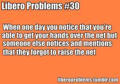 libero volleyball sayings   Libero Quotes Libero problems - definitely
