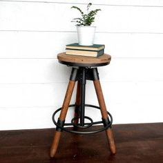 Adjustable Take A Seat Counter Stool