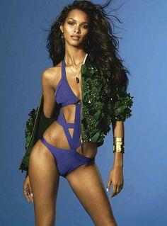 visual optimism; fashion editorials, shows, campaigns & more!: brasil: lais ribeiro by jonas bresnan for s moda 24th may 2014