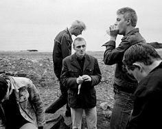 Glue sniffers, Whitehaven, Cumbria, England 1980 by Chris Killip.