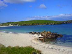 St Ninian's beach, Shetland Islands, Scotland by Karen V Bryan, via Flickr Duncan roots