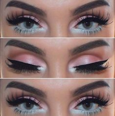 Pretty Pastel Spring Makeup Idea