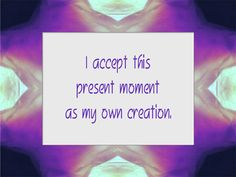 Daily Affirmation for July 17, 2012