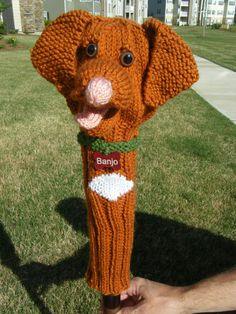 Amigurumi Golf Club Covers : Free Pattern Knit Golf Club Covers Promotion, Featuring ...