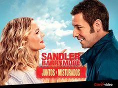 """Adam Sandler e Drew Barrymore estão """"Juntos e misturados"""" pela terceira vez! Quem aí não ama ver eles juntinhos nos filmes?! <3"""
