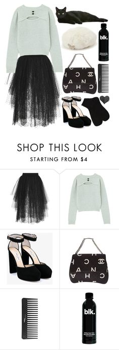 """A frozen heart beat under the snow"" by natjulieta ❤ liked on Polyvore featuring Elie Saab, Jimmy Choo, Chanel, Sephora Collection, ootd, Larme, Coordinates, TSJ and ClassyFairy"
