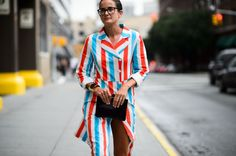 Street Style From New York Fashion Week Spring 2016 Day 1-Wmag