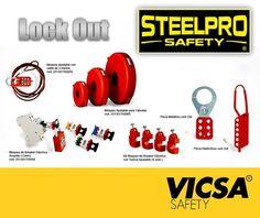 5bbaabc51c [LOCK OUT, la linea segura de STEELPRO:] Conoce nuestros productos en:
