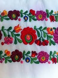 607 best bordado mexicano images on Pinterest   Embroidery ...