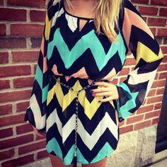Chevron Dress♥